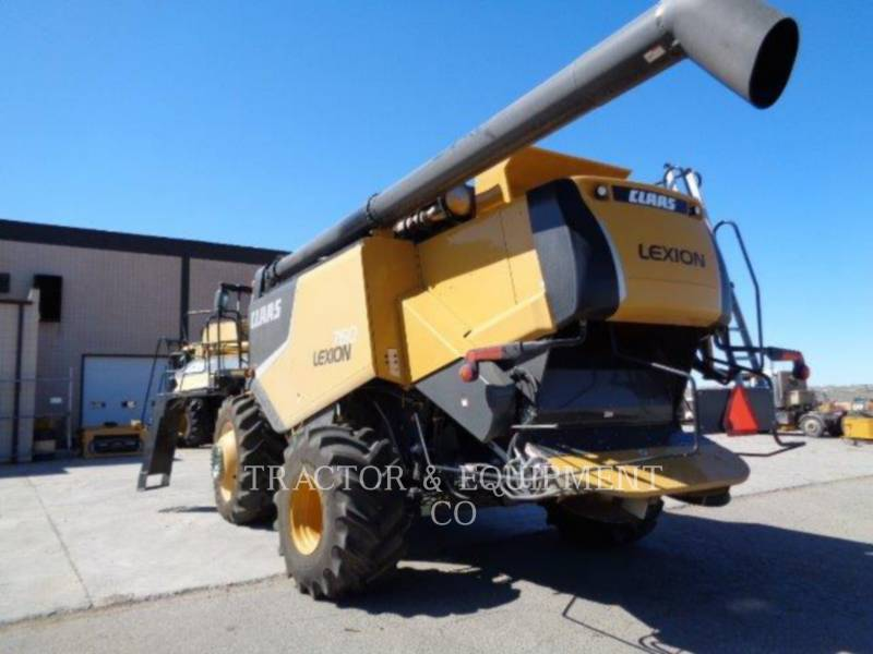 LEXION COMBINE COMBINES LX760 equipment  photo 6