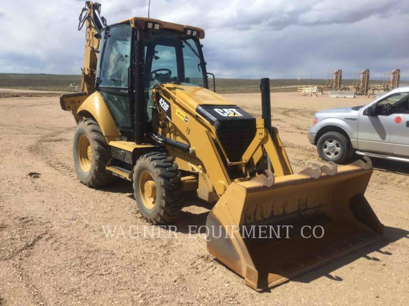 CATERPILLAR BAGGERLADER 420F 4WDE equipment  photo 2