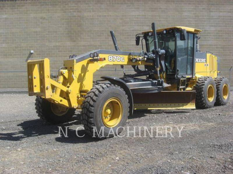 JOHN DEERE MOTOR GRADERS 870G equipment  photo 1