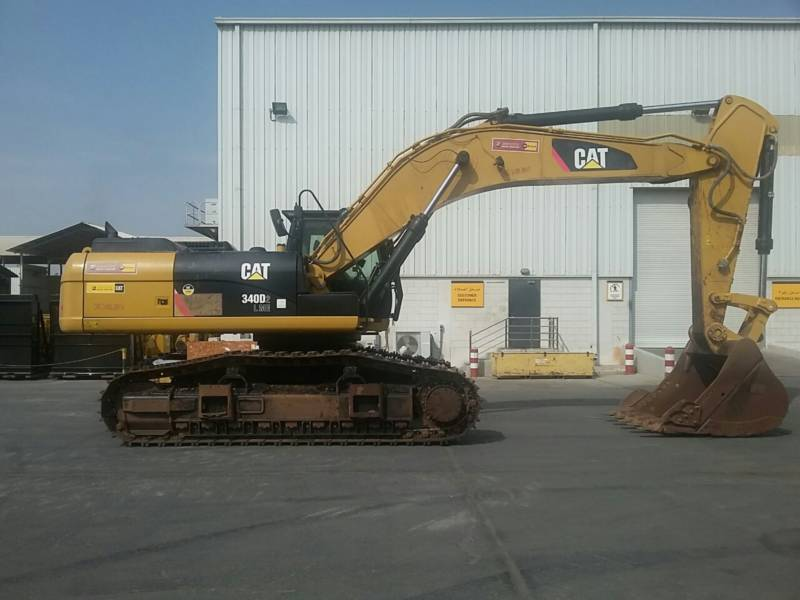 CATERPILLAR KOPARKI GĄSIENICOWE 340D2L equipment  photo 6