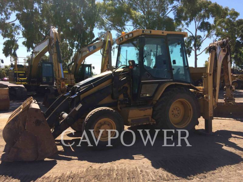 CATERPILLAR BAGGERLADER 432D equipment  photo 2
