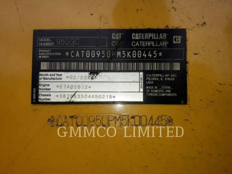 CATERPILLAR PALE GOMMATE/PALE GOMMATE MULTIUSO 950GC equipment  photo 5