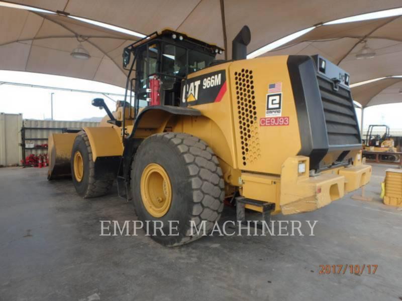 CATERPILLAR CHARGEURS SUR PNEUS/CHARGEURS INDUSTRIELS 966M equipment  photo 3