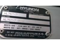 HYUNDAI RADLADER/INDUSTRIE-RADLADER HL 757-7 equipment  photo 8