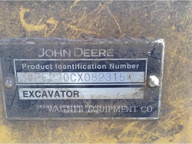 JOHN DEERE TRACK EXCAVATORS 330C equipment  photo 10