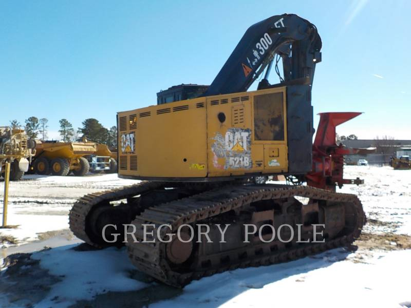CATERPILLAR FORESTRY - FELLER BUNCHERS - TRACK 521B equipment  photo 8