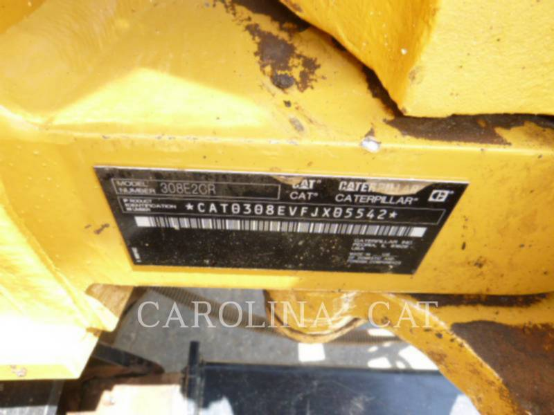 CATERPILLAR TRACK EXCAVATORS 308E2CR TH equipment  photo 8
