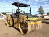Equipment photo CATERPILLAR CB66B COMPATTATORE PER ASFALTO A DOPPIO TAMBURO VIBRANTE 1
