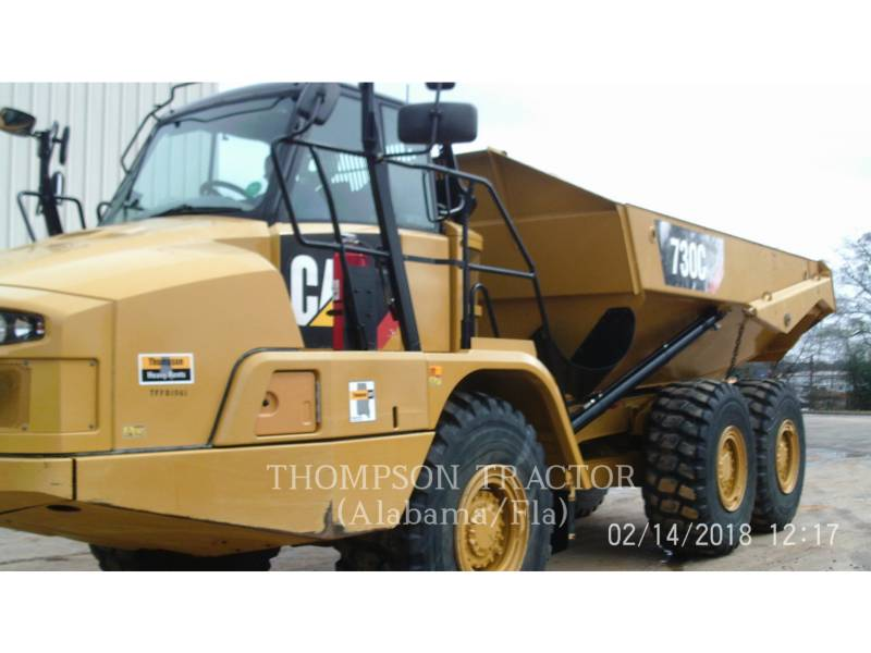 CATERPILLAR DUMPER A TELAIO RIGIDO 730C equipment  photo 2