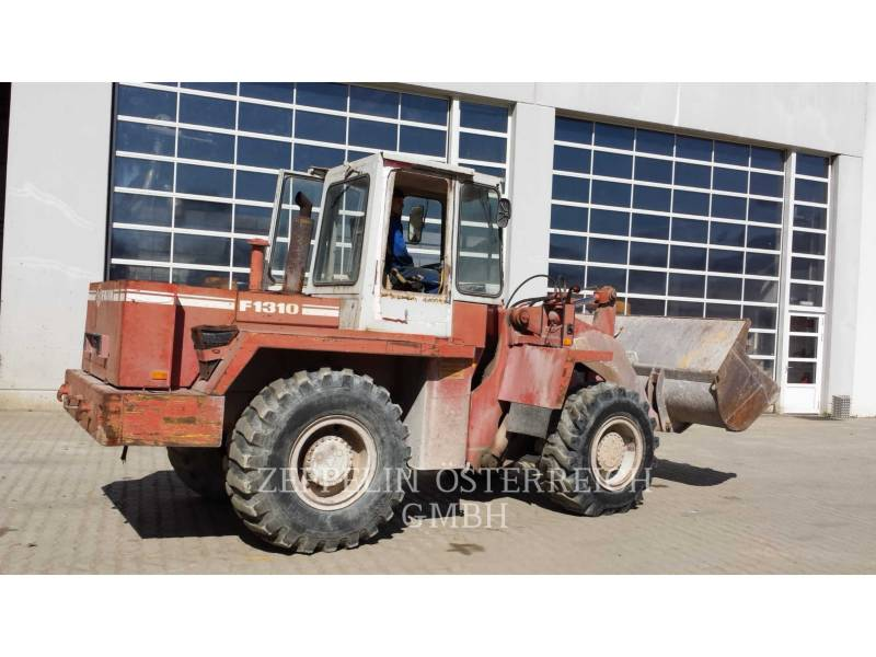O&K WHEEL LOADERS/INTEGRATED TOOLCARRIERS FAUN F1310 equipment  photo 1