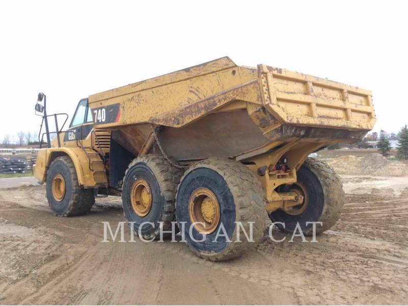 CATERPILLAR ARTICULATED TRUCKS 740 T equipment  photo 4