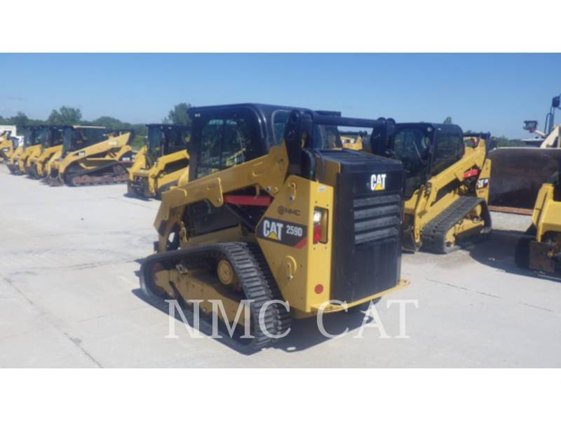 CATERPILLAR CARREGADEIRAS TODO TERRENO 259D equipment  photo 2