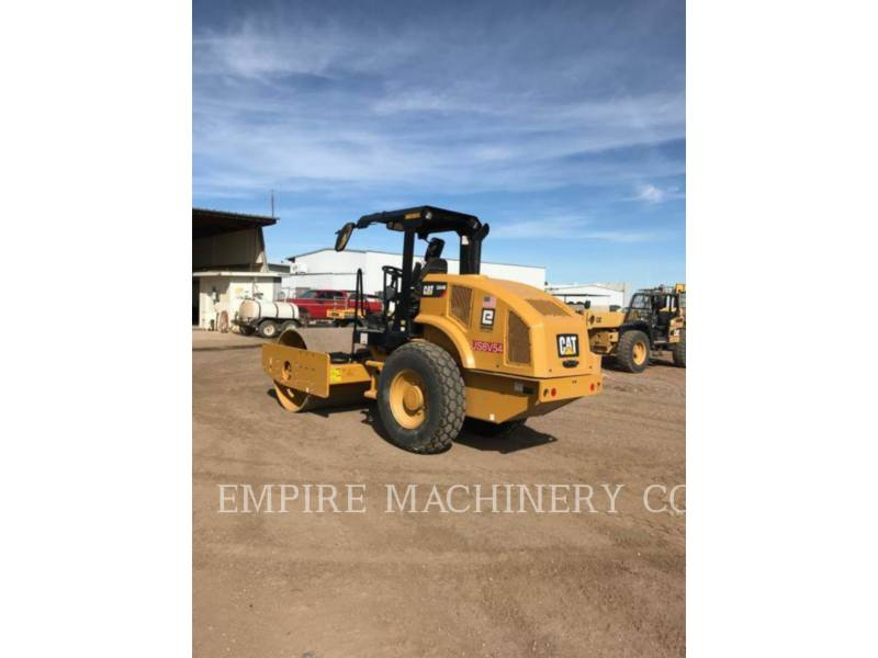 CATERPILLAR TRILLENDE ENKELE TROMMEL GLAD CS44B equipment  photo 2