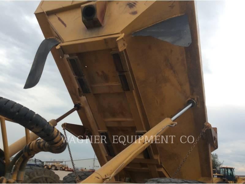 CATERPILLAR KNICKGELENKTE MULDENKIPPER 740 equipment  photo 12