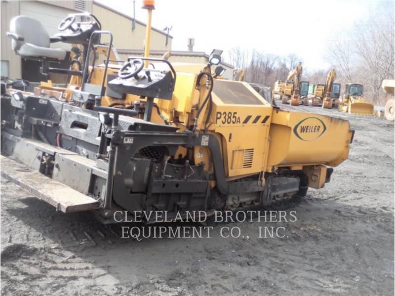 WEILER ASPHALT DISTRIBUTORS P385A equipment  photo 2