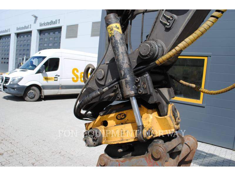 VOLVO CONSTRUCTION EQUIP BRASIL WHEEL EXCAVATORS EW 160 C equipment  photo 8