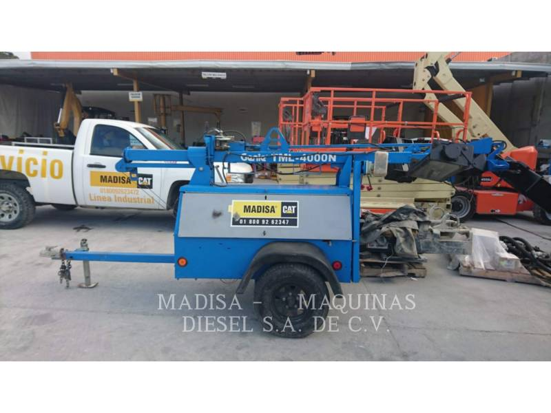 GENIE INDUSTRIES LIGHT TOWER TML4000N equipment  photo 6