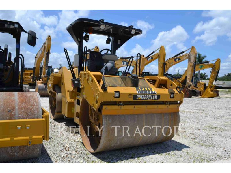 CATERPILLAR TANDEMVIBRATIONSWALZE, ASPHALT CB54 equipment  photo 4