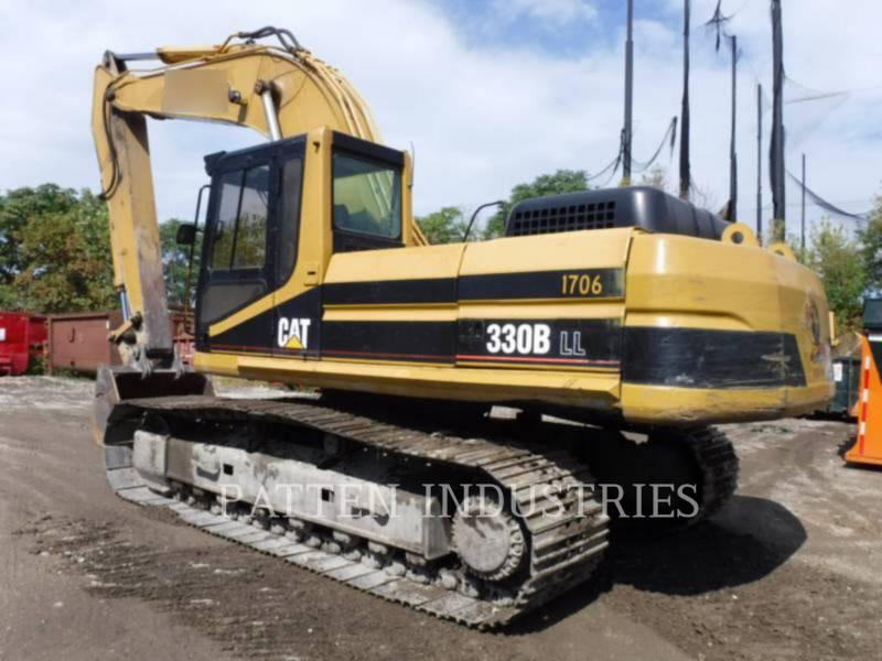 CATERPILLAR TRACK EXCAVATORS 330BL equipment  photo 4