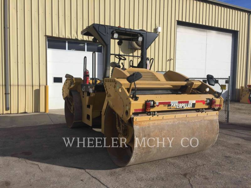 CATERPILLAR VIBRATORY DOUBLE DRUM ASPHALT CB64 VV equipment  photo 4