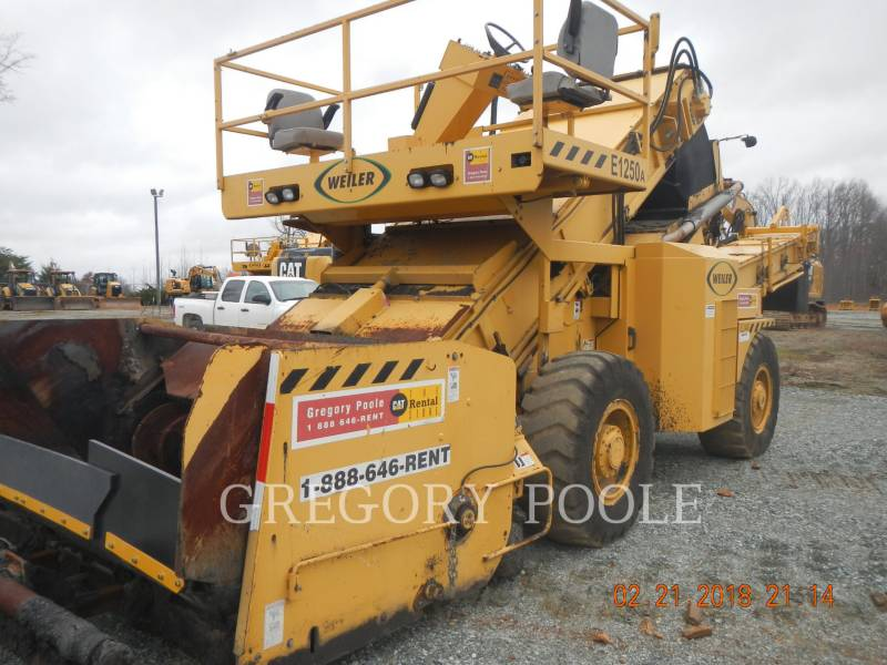 WEILER EQUIPO VARIADO / OTRO E1250 equipment  photo 24