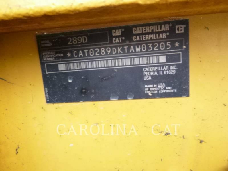 CATERPILLAR 履帯式ローダ 289D equipment  photo 8