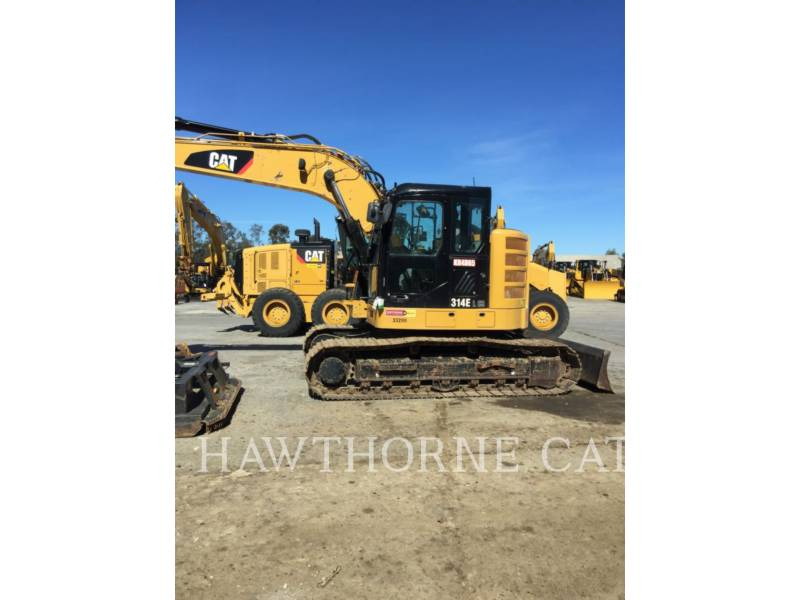 CATERPILLAR TRACK EXCAVATORS 314E CRTH equipment  photo 1