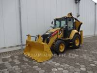 Equipment photo CATERPILLAR 428 BAGGERLADER 1