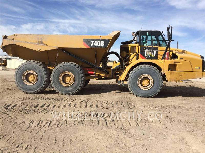 CATERPILLAR ARTICULATED TRUCKS 740B TG equipment  photo 9
