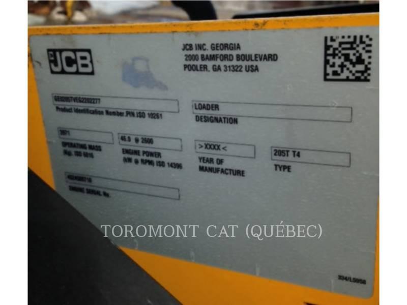 JCB CHARGEURS TOUT TERRAIN 205T equipment  photo 17