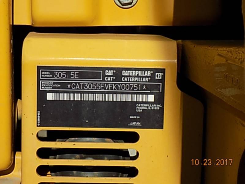 CATERPILLAR PELLES SUR CHAINES 305.5ECR equipment  photo 16