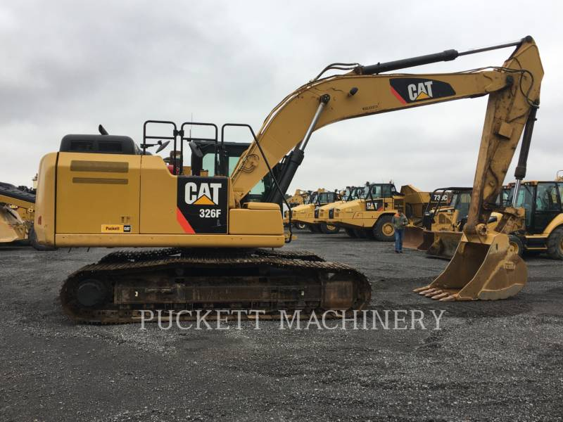 CATERPILLAR TRACK EXCAVATORS 326F equipment  photo 5