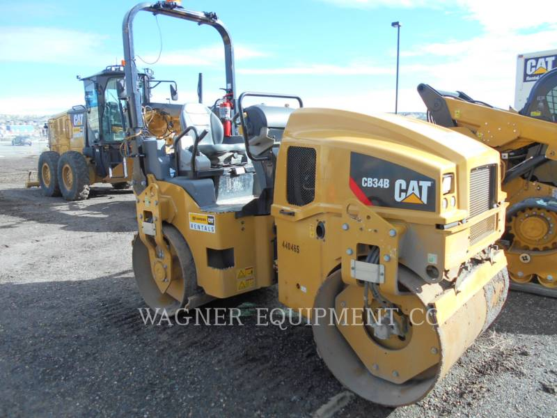 CATERPILLAR COMPACTADORES CB34B equipment  photo 1