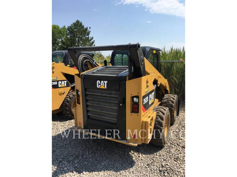 CATERPILLAR SCHRANKLADERS 262D C3HF2 equipment  photo 4
