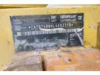 CATERPILLAR WOZIDŁA PRZEGUBOWE 740B equipment  photo 8