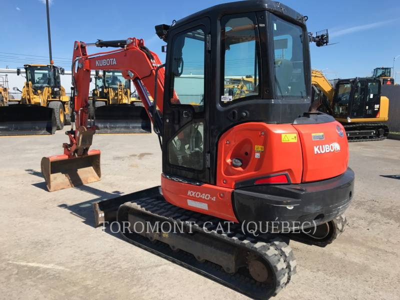 KUBOTA CANADA LTD. PELLES SUR CHAINES KX040 equipment  photo 2