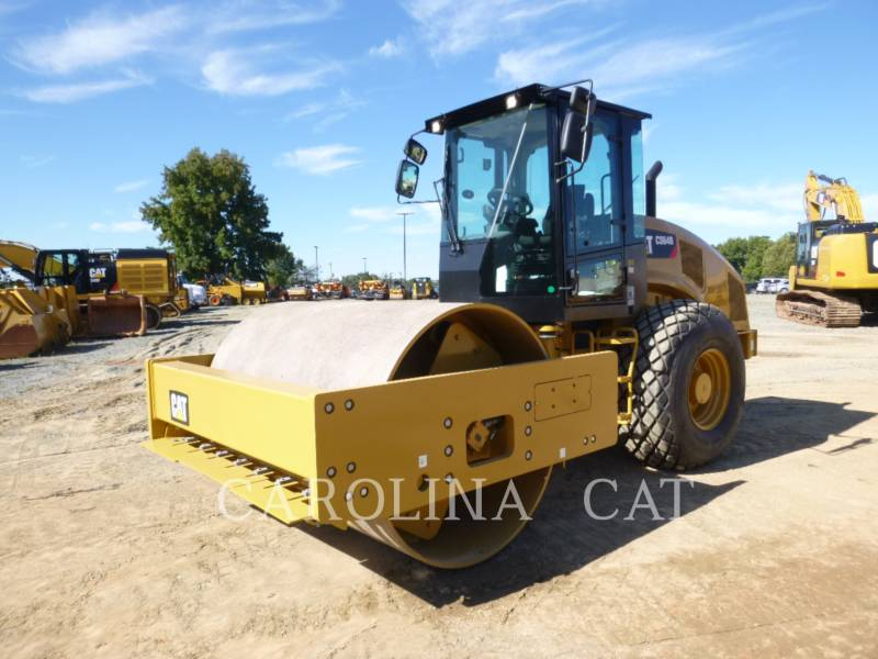 CATERPILLAR EINZELVIBRATIONSWALZE, GLATTBANDAGE CS64B equipment  photo 2