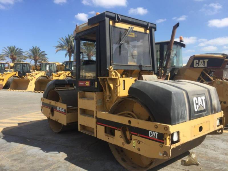 CATERPILLAR ROLO COMPACTADOR DE ASFALTO DUPLO TANDEM CB-534C equipment  photo 2