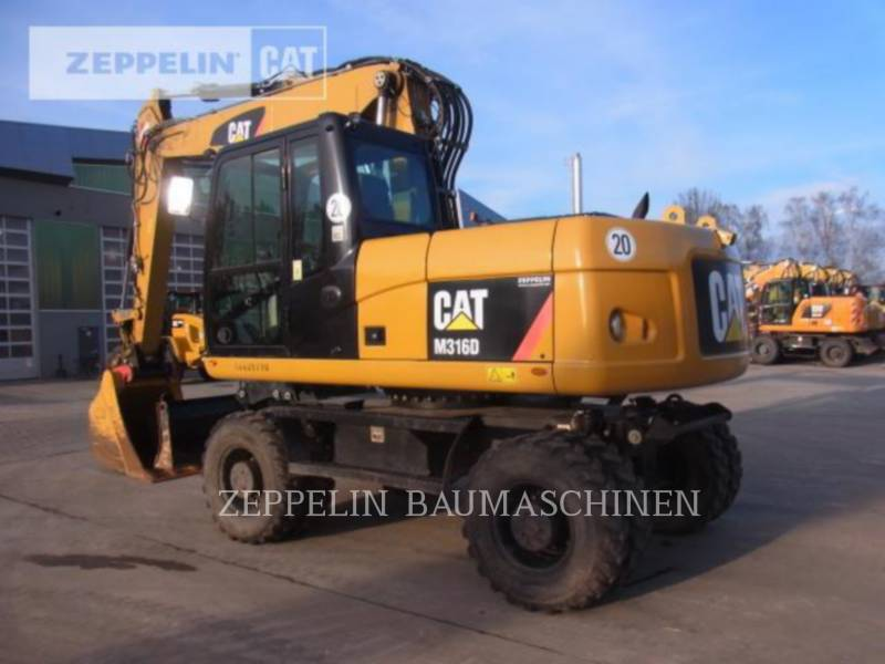 CATERPILLAR ホイール油圧ショベル M316D equipment  photo 4