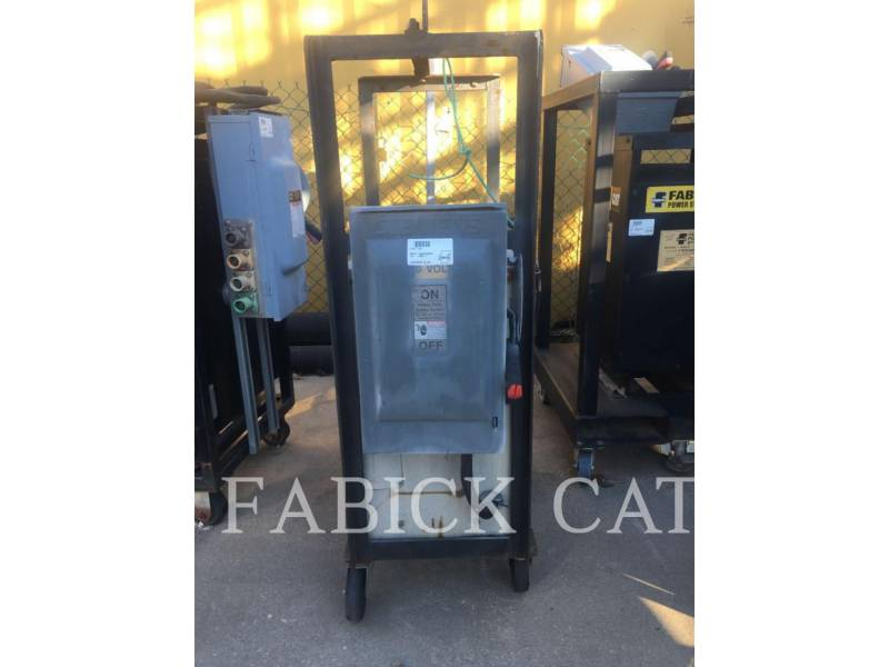 OTHER US MFGRS TRANSPORTABLE STROMAGGREGATE 45KVA TRANSFORMER equipment  photo 1