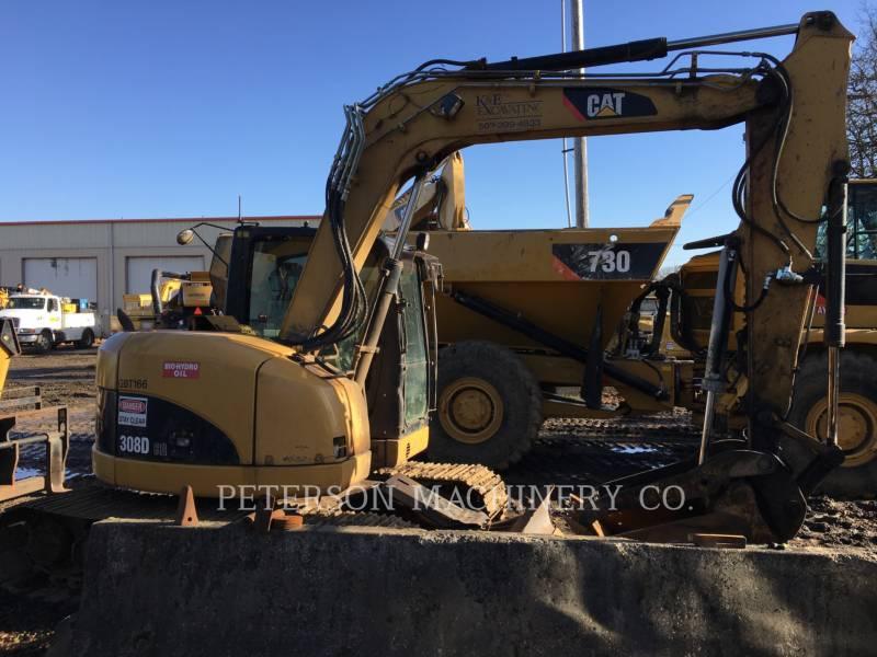 CATERPILLAR TRACK EXCAVATORS 308DCR equipment  photo 3