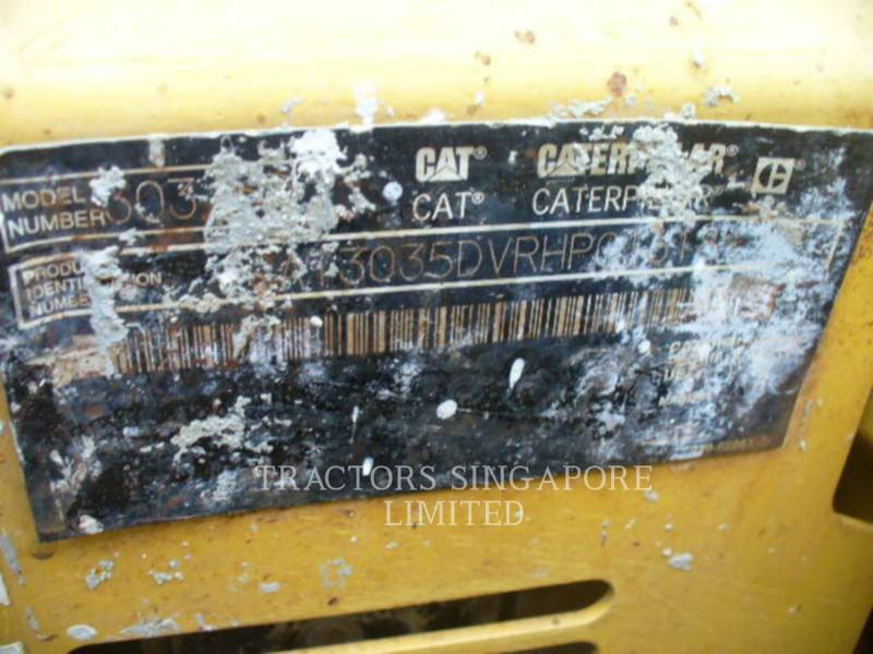 Caterpillar EXCAVATOARE PE ŞENILE 303.5DCR equipment  photo 15