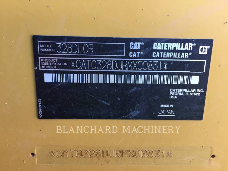 CATERPILLAR EXCAVADORAS DE CADENAS 328D equipment  photo 9