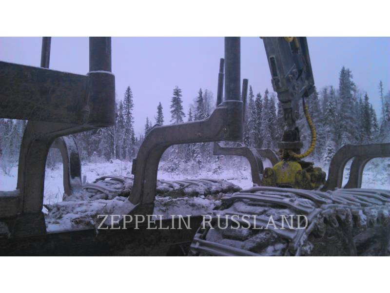 PONSSE LEŚNICTWO - FORWARDER BUFFALO 8W equipment  photo 6