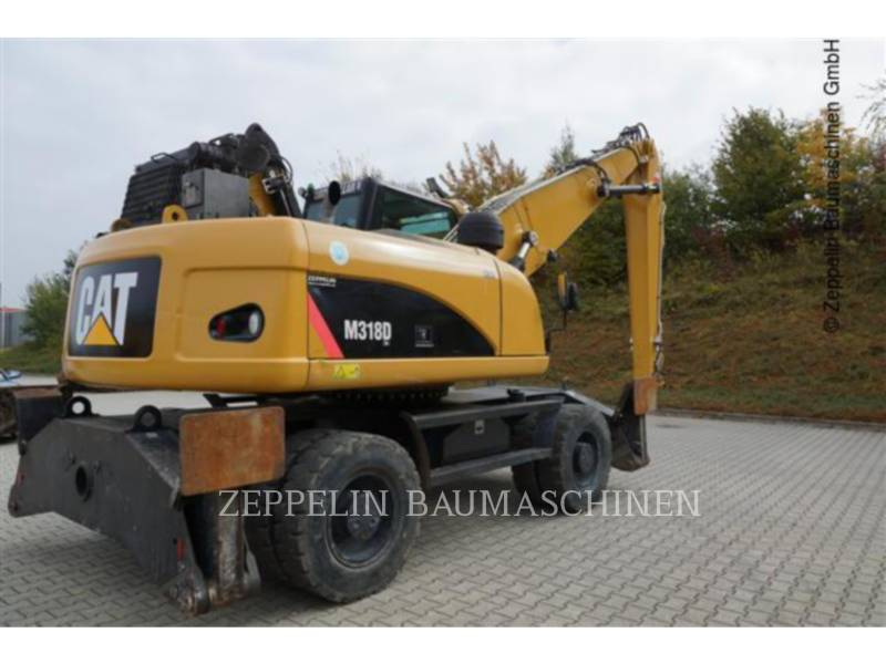 CATERPILLAR EXCAVADORAS DE RUEDAS M318DMH equipment  photo 5
