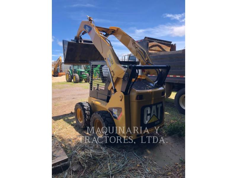 CATERPILLAR PALE COMPATTE SKID STEER 242B2 equipment  photo 3