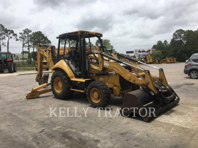 CATERPILLAR CHARGEUSES-PELLETEUSES 420FIT equipment  photo 7