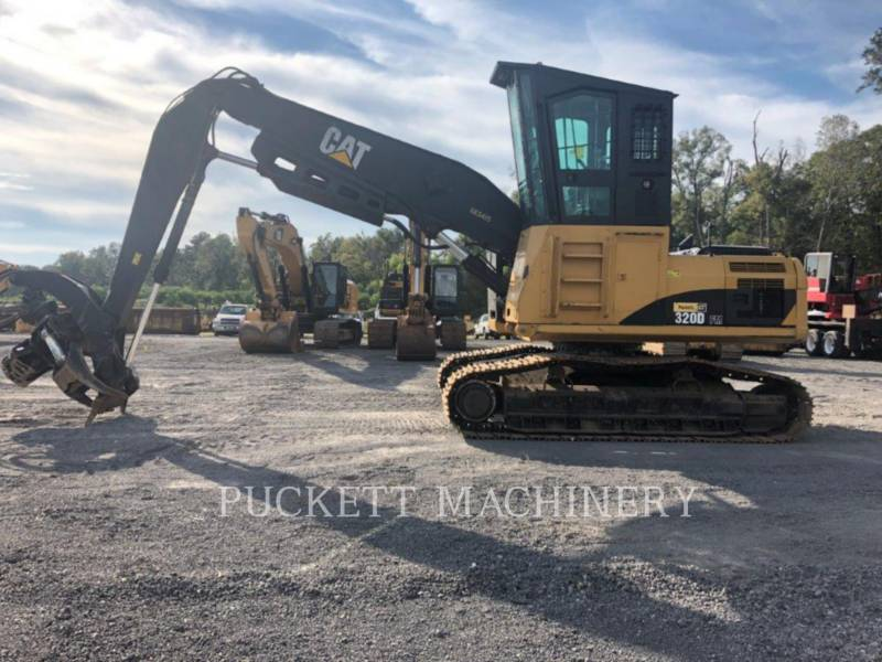 CATERPILLAR CARICATORE DI TRONCHI 320DFMLL equipment  photo 1