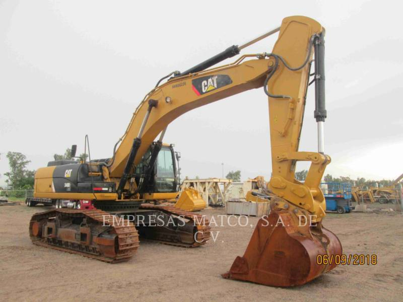 CATERPILLAR KETTEN-HYDRAULIKBAGGER 340D2L equipment  photo 4