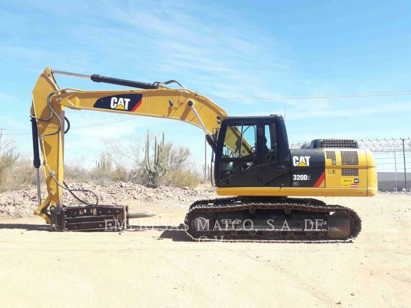 CATERPILLAR TRACK EXCAVATORS 320 D 2 GC equipment  photo 7